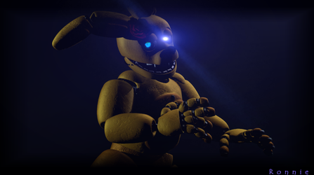 Springbonnie (f) .:Request:. by RonnieTheBear12