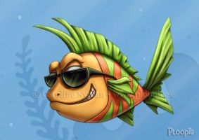 Cool fish by Ploopie