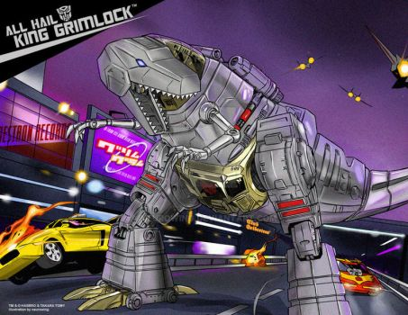 GRIMLOCK commission by neurowing