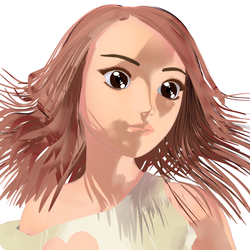 Cel Hair for Visual Style Shaders by spearcarrier