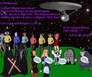 In Memoriam to Leonard Nimoy (1931-2015) by 15willywonka