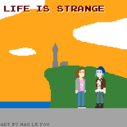 Life is Strange pixel art by maxlefou