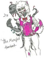 The Mangle -FNAF 2- by thecrazyman14