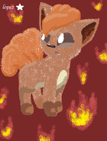Vulpix Fire by lopez765