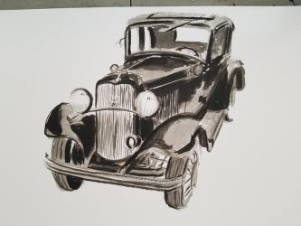 1932 Ford by Thaediem