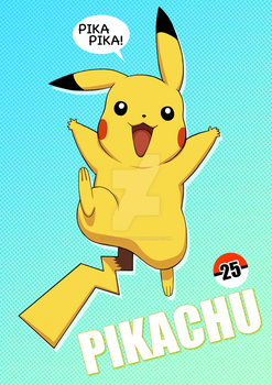 Pika Pika Pikachu by OfficalROTP