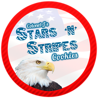 Stars and Stripes Cookies by Echilon