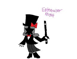 Entertainer Knight Concept by CharmeleonGirl46
