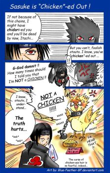 Sasuke is Chicken-d Out by Blue-Feather-BF