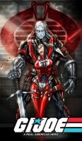 Destro and Baroness gi joe by jamietyndall
