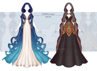 [Close] Adoptable Outfit Auction 233-234 by LifStrange