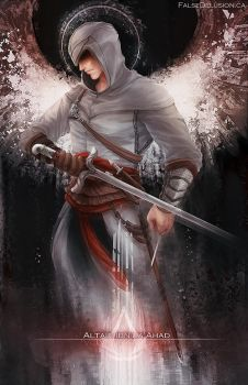 Assassin's Creed - Altair by FalseDelusion