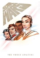 Star Wars: The Force Awakens by Mono-Owl