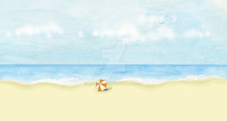 Day at the Beach by laceyallyn