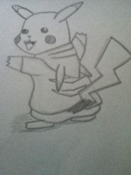 pikachu in a pika-jacket by devil-licious