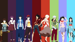 Monogatari Minimalist Wallpaper V2 [updated] by Yuki-Neh