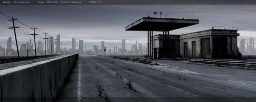 Gas Station by themeny