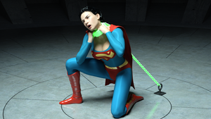 Superwoman taking a knee by rustedpeaces