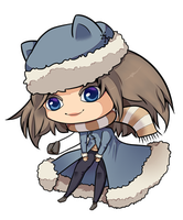 Chibi commission example #1 by x--lalla--x
