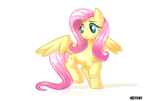 Fluttershy (Classic Style) by J-Zykov