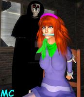 Daphne Held Pisoner In A Haunted Warehouse by The-Mind-Controller