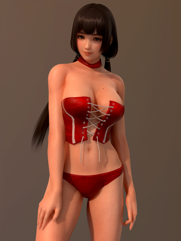 Dead or Alive DOA Naotora by RadiantEld