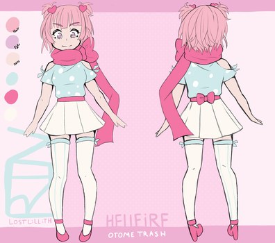 [HELLFIRE] Rin [Character Ref Sheet] UPDATED by lost-lillith