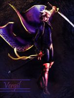 Vergil's Descent by sephiroths-muse
