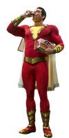Shazam! Captain Marvel PNG by Metropolis-Hero1125
