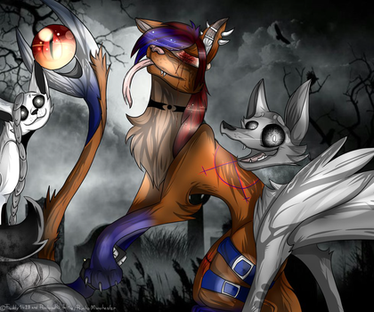 Finished collab with Freddy1428 by Psycho-Manchester