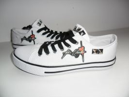 The Used converse by MySicknessRomance