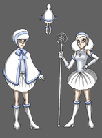 Magical girl for Tournament Cosmos by Chibi-Sugar