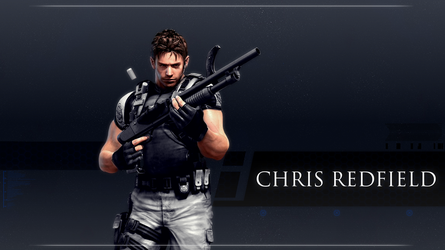 Chris Redfield Wallpaper by Daphnecool