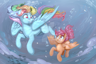 Ride the Waves by GlacierClear