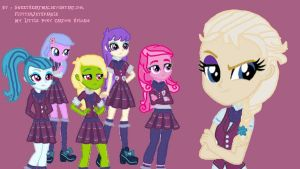 My OC of Crystal Prep Academy by nalaaashy