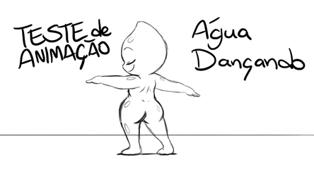 Animation Test | Water Dancing by joaoppereiraus