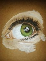 Eye Study by Shinigami--Apples