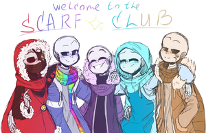 Welcome to the SCARF CLUB by RegiregeArt