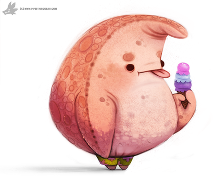 Daily Painting 882. Patrick by Cryptid-Creations
