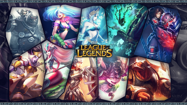 League of Legends - Support Wallpaper2~ by hit3N by xMarquinhos