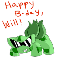 Happy Birthday, Will!! by GECKO-Nuzlockes