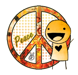 Peace PNG by KataJunkova
