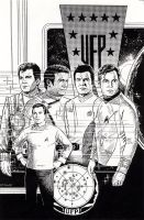 JAMES T KIRK by Jerome-K-Moore