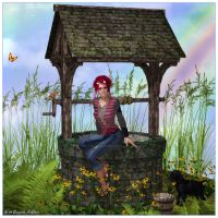 The Wishing Well by kissmypixels
