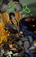 The Bat, The Cat, and the Lucha Libre by KileyBeecher