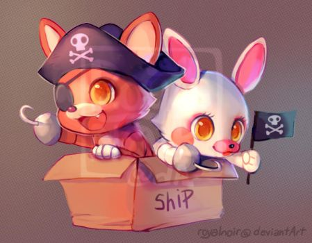 Deadly Pirates on a Ship by RoyalNoir