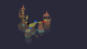 2014-10-26 Island Concept - Nighttime Version by danielgoffin