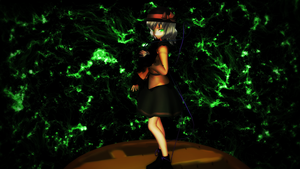 Smash Bros Trophy Koishi Komeiji 2560x1440 by headstert