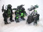 The Dark Zoid army by GhostLiger