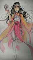 Sariatu (Kubo and the Two Strings) by silent-requiem